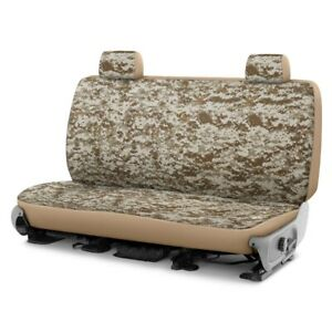 For Dodge Ram 1500 Van 97 03 Camo 2nd Row Digital Tan Custom Seat Covers