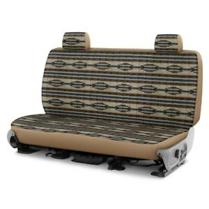 For Dodge Ram 1500 Van 97 03 Southwest Sierra 2nd Row Tan Custom Seat Covers