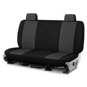For Dodge Ram 1500 Van 97 03 Neosupreme 2nd Row Charcoal With Black Custom Seat