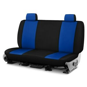 For Dodge Ram 1500 Van 97 03 Neosupreme 2nd Row Blue W Black Custom Seat Covers