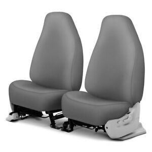 For Dodge Ram 1500 Van 97 03 Genuine Neoprene 1st Row Gray Custom Seat Covers