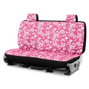For Dodge Ram 1500 Van 97 03 Hawaiian 2nd Row Pink Custom Seat Covers