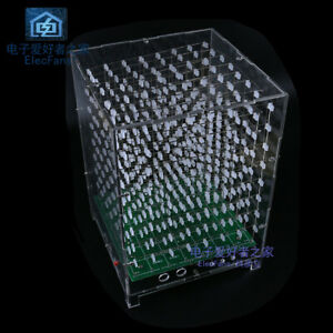 need Your Own Weld 8 8 8 Light Cube Suite With Music Spectrum Function Diy