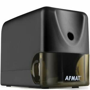 Afmat Pencil Sharpener Heavy Duty Electric Pencil Sharpener For Classroom Ind
