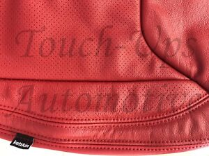 2013 2017 Jeep Wrangler Jk Katzkin Leather Seat Covers Red 2 Door Kit