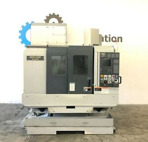 Mori Seiki Nv 5000 Cnc Vertical Machining Center Mill Vmc 12000 Rpm