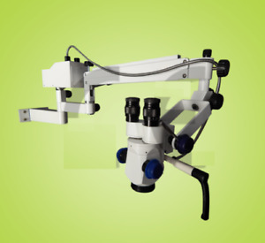 Ophthalmic 3 Step Surgical Operating Portable Led Wall Mount Microscope H15