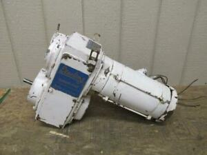 Sterling Speed trol Variable Speed Drive Gearmotor 466 To 4660 Rpm 3 4 Hp 3 Ph