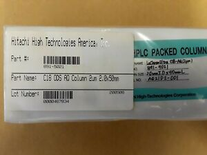 Hitachi Hplc Packed Column 891 5021 Lachrom Ultra C18 Ods Aq 2um 2 0 X 50mm