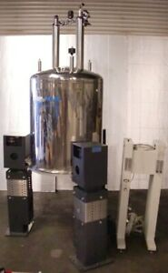 Oxford Nmr Yh400 Super Conducting Magnet System W Varian Parts And Manuals