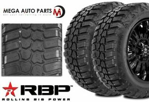 2 Rbp Repulsor M T Rx 33x12 50r18lt 118q 10ply All Terrain Mud Truck Tires Mt