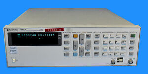 Hp Agilent 3324a Synthesized Function Sweep Generator Option 004 Calibrated