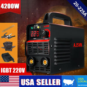 4200w 225a Arc Electric Welding Machine Mma Igbt Inverter Stick Welder Set Us