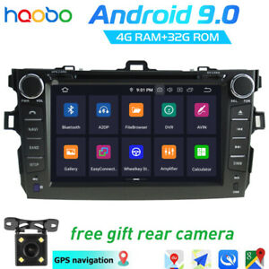 Android 9 0 Car Gps Radio Navi Head Unit 4 32g Rom For Toyota Corolla 2007 2012