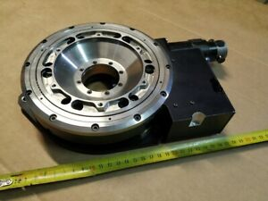 Vertical Rotary Table Rotation Stage Servo V404t 012 Wafer Positioning
