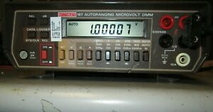 Keithley 197 Tested Accurate 1mohm Resolution