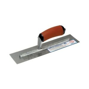 Marshalltown Pb57d 14 x3 Permashape broken in Trowel W curved Durasoft Handle