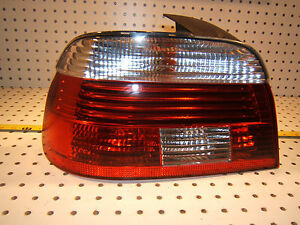 Bmw Late E39 Rear Trunk Left Driver Hella Led Taillight Genuine Bmw Oem 1 Lens