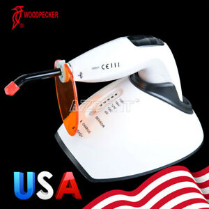 Woodpecker Led f Curing Light Lamp Teeth Whitening Glass Tips 1000mw cm