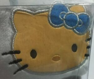 Brand New 1 Hello Kitty Light Blue Car Seat Cover With Glimmering Sides Cat
