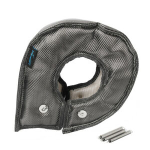 Carbon Fiber Titanium Big Turbo Blanket Heat Shield Cover Steel Mesh For T6 T78