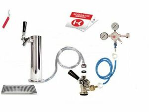 Kegco Deluxe Tower Kegerator Conversion Kit No Co2 Dtck 542_nt