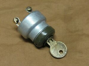 Willys Jeep Mb Keyed Style Ignition Switch Museum Quality Repo G503
