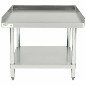30 X 30 Stainless Steel Table Commercial Mixer Grill Heavy Equipment Stand