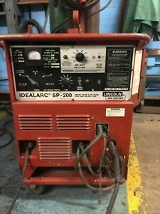 Lincoln Mig Welder With Magnum Spool Gun