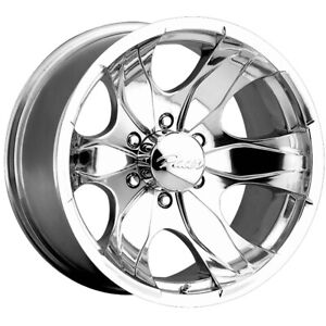 4 Pacer 187p Warrior 16x8 5x135 10mm Polished Wheels Rims 16 Inch