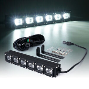 Xprite 10 Inch 30w Cree Led Light Bar Spot Flood Combo Work Lamp Offroad Truck
