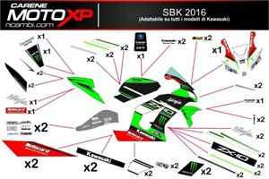 Stickers Decal Moto Compatible Zx10r 2016 2019 Sb16