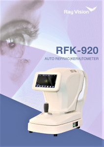 7 Tft Touch Screen Auto refractor Keratometer Ophthalmic Refractometer Rfk 920