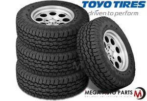 4 Toyo Open Country A t Ii Xtreme Lt285 75r17 121s All Terrain Truck Tires