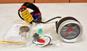Sale Auto Meter Sport Comp Mechanical Water Temperature Gauge 2 1 16 52mm