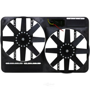 Fan Electric 13 1 2 Dual Shrouded Puller W Variable Speed Control Fits 2004 20