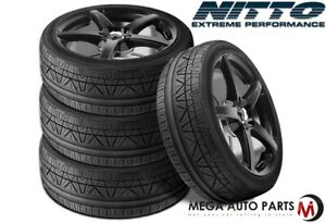 4 Nitto Invo 245 35zr20 95w Xl Uhp Ultra High Performace Sport Traction Tires