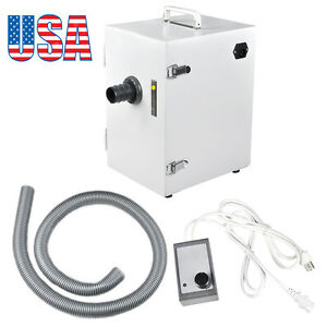 Usa Dental Digital Single row Dust Collector Vacuum Cleaner 370w For Laboratory
