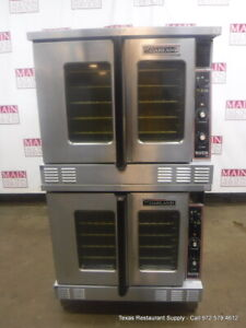 Garland Mco gs 10s Gas Double Deck Full Size Convection Oven Year 2010