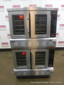 Lang Gcco ap Gas Double Deck Full Size Convection Oven