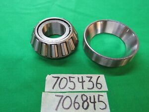 Dodge M37 Nos Winch Bearing Cone Cup Timken Made In Usa S275