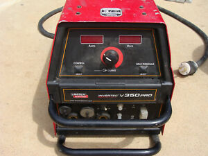 Lincoln Invertec V350 pro Construction Multi process Welder worksgr8 Nr