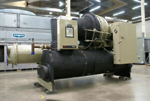 Used Trane 450 Ton Water cooled Cvhe450 Chiller Sku 1570