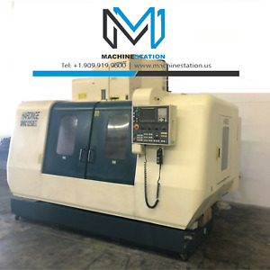 Hardinge Vmc 1250ii Cnc Vertical Machining Center 5025 Mill Fanuc Daewoo Mori