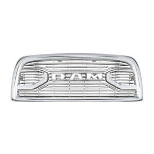 Fits For 2013 2018 Dodge Ram 2500 5500 Chrome Laramie Limited Front Grille Us