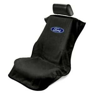 Seat Armour Sa100forb Black Towel Seat Cover W Ford Logo