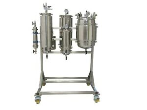 5lb Rack Mounted Active Closed Loop Extraction System Extractor Solutions