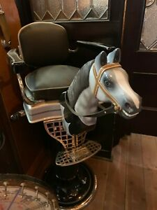 Carved Horse Head For Child S Barbershop Chair Paidar Koken Etc Watch Video