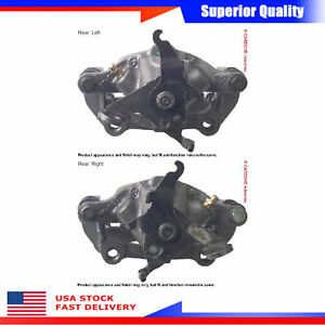 2pcs Brake Caliper Rear Left Right For 2005 Jaguar S Type R