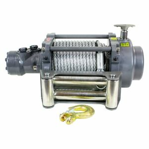 Detail K2 15000nh 15 000 Lbs Warrior Nh Series Hydraulic Winch W Steel Rope